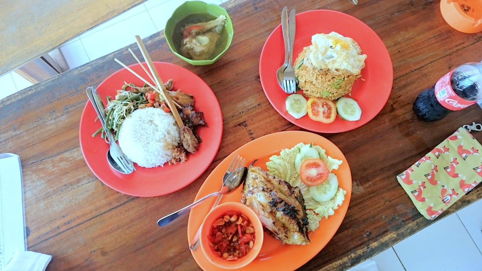 Nusa Penida ruoka Indonesia Bali
