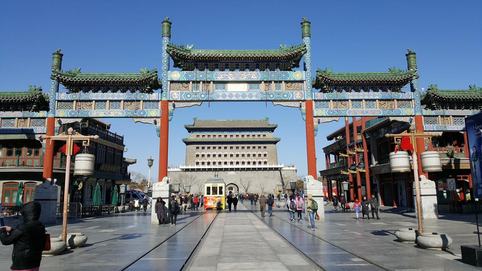 Peking_Qianmen_gate nähtävyydet