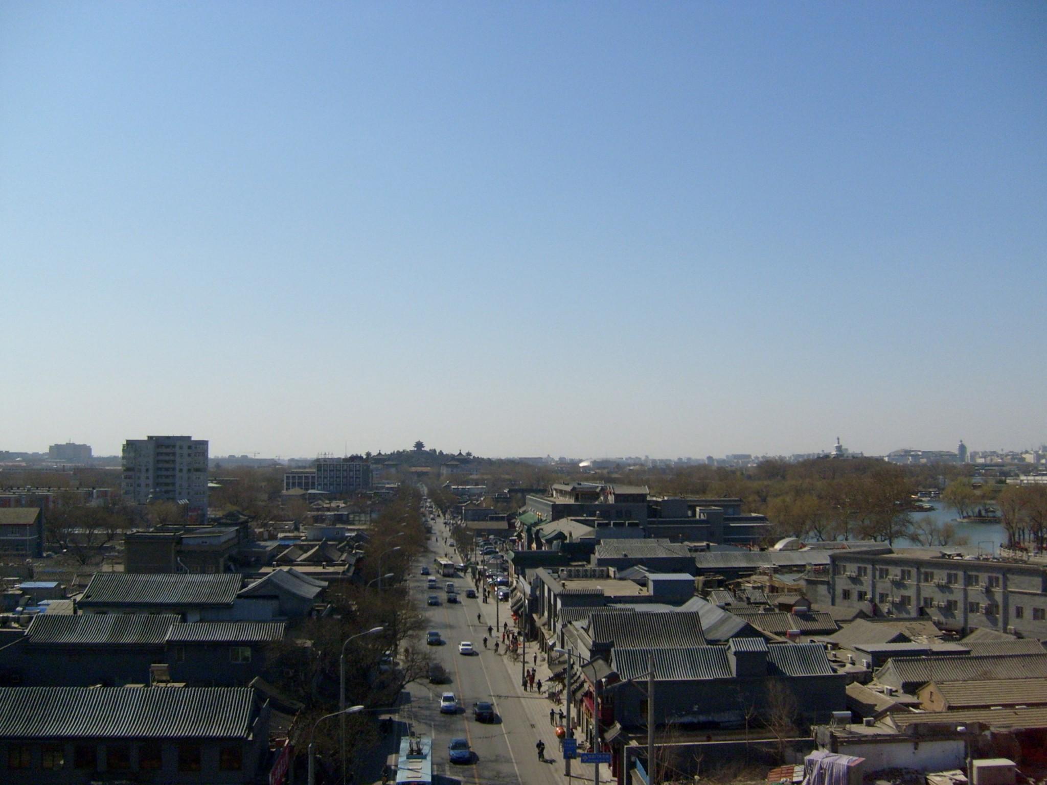 Peking_bell_tower nähtävyydet kellotorni rumputorni