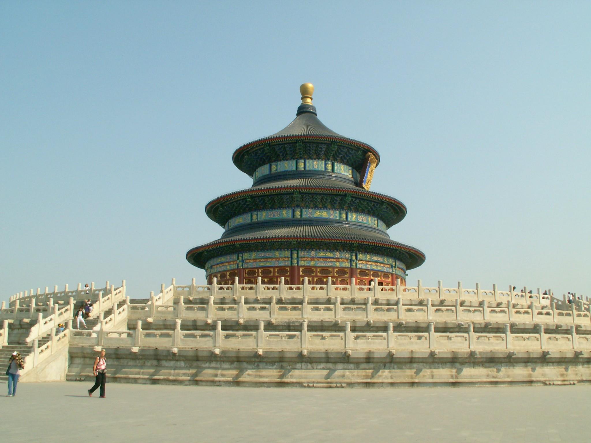 Peking_taivaan_temppeli peking nähtävyydet