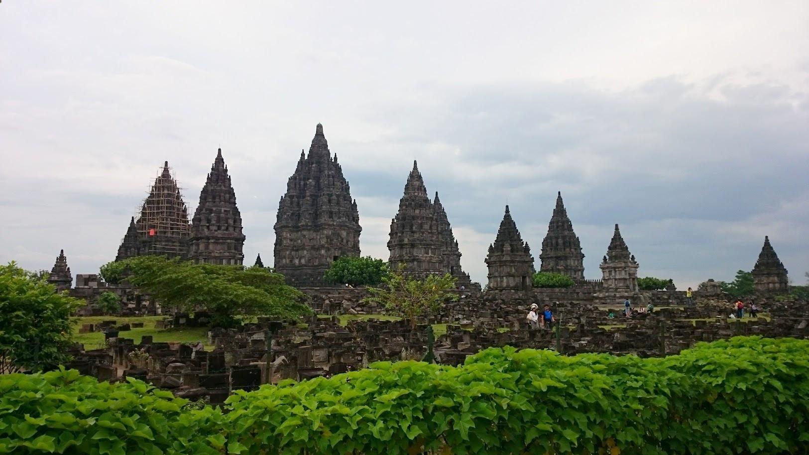 Prambanan Indonesia temppeli