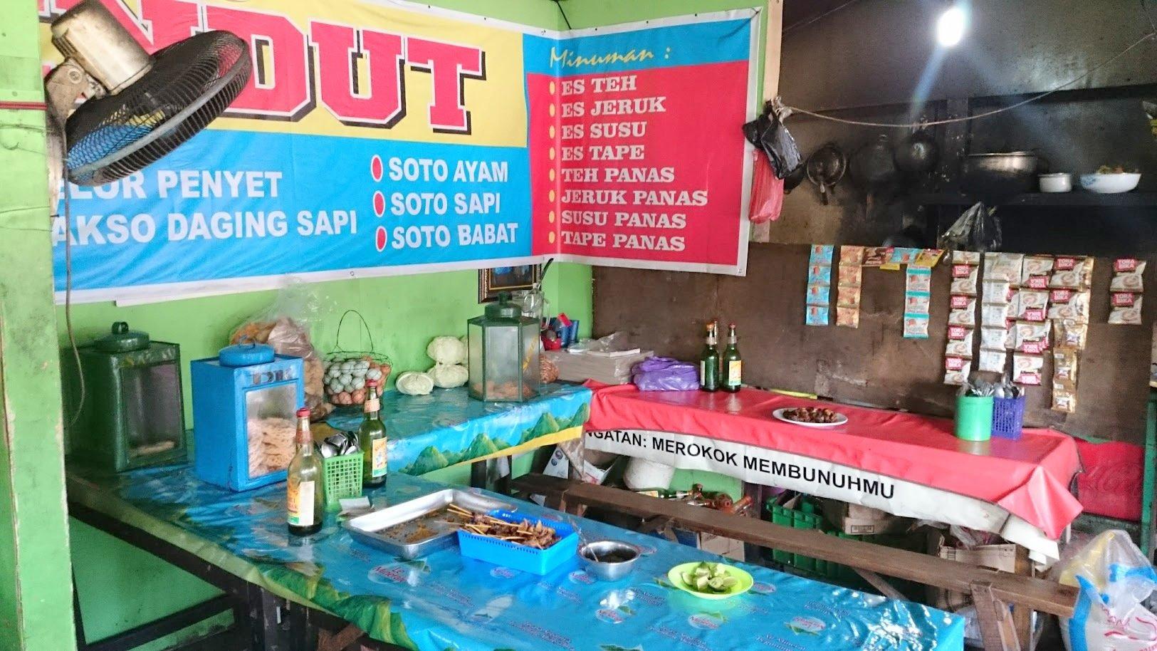 Yogyakarta street food Indonesia ruoka