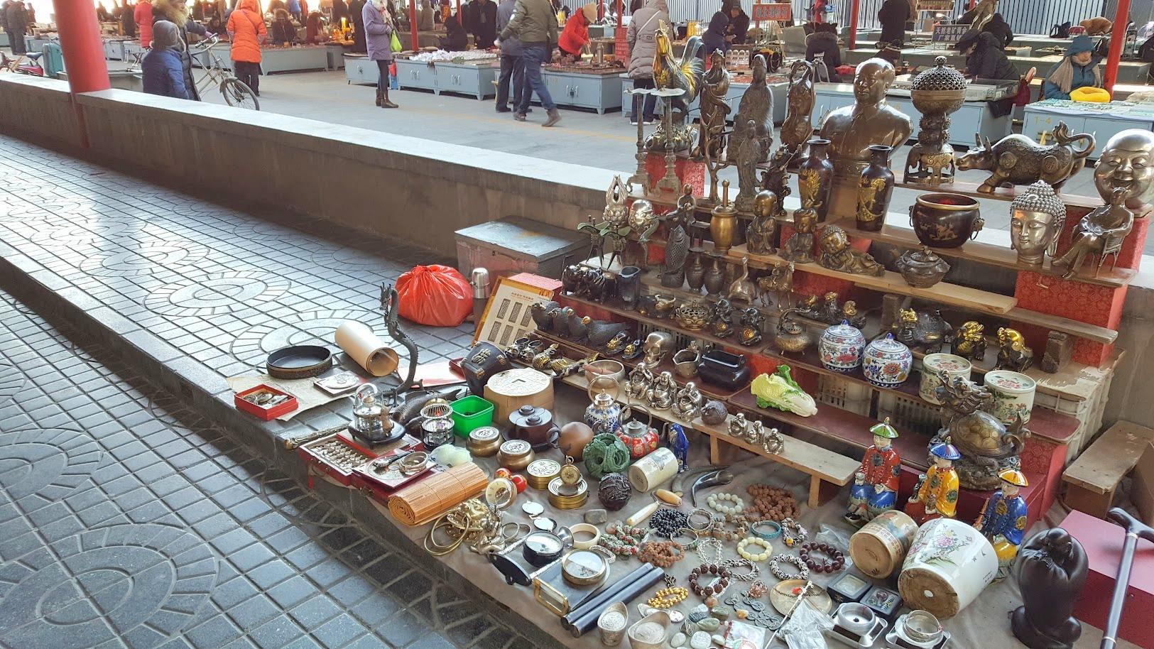 Antiikkimarkkinat_Peking ostokset markkinat nähtävyydet