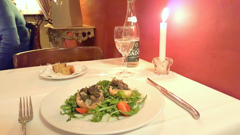 Nizza_Cote_Marais ravintola bistro illallinen lounas