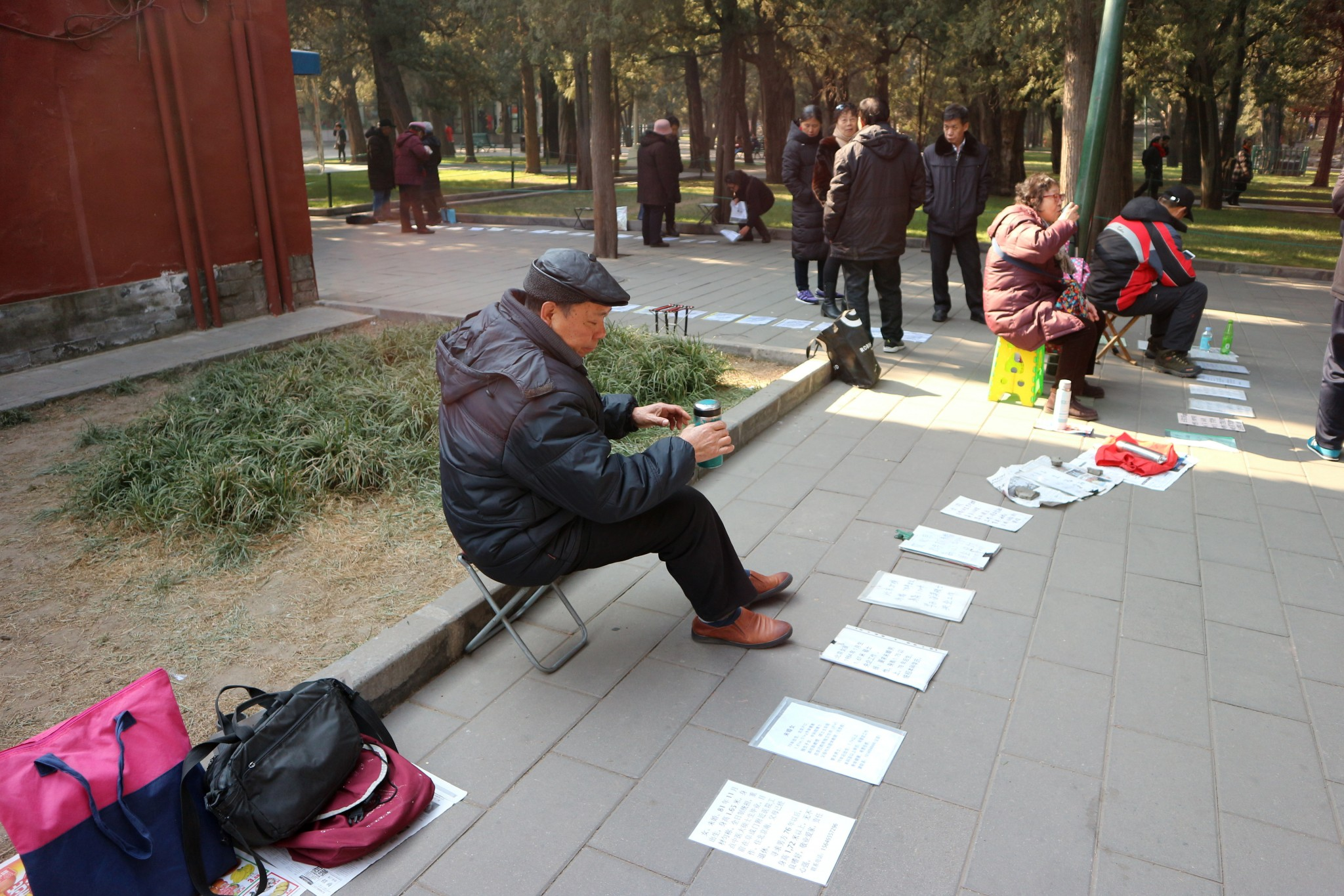 Peking_puisto_avioliittomarkkinat