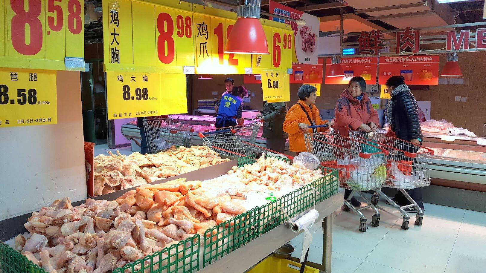 Peking_ruokakauppa ostokset tuliaiset