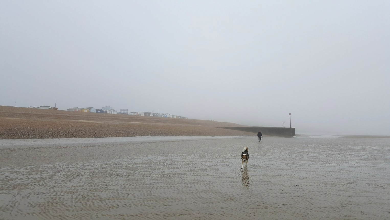 Englannin rannikko merenranta