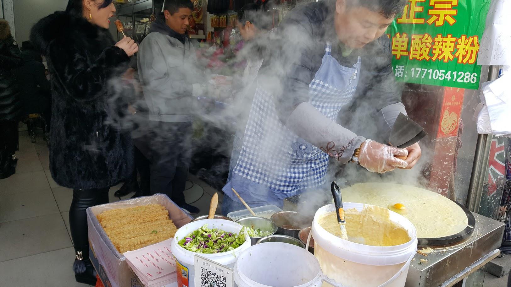 peking kiina ruoka katuruoka