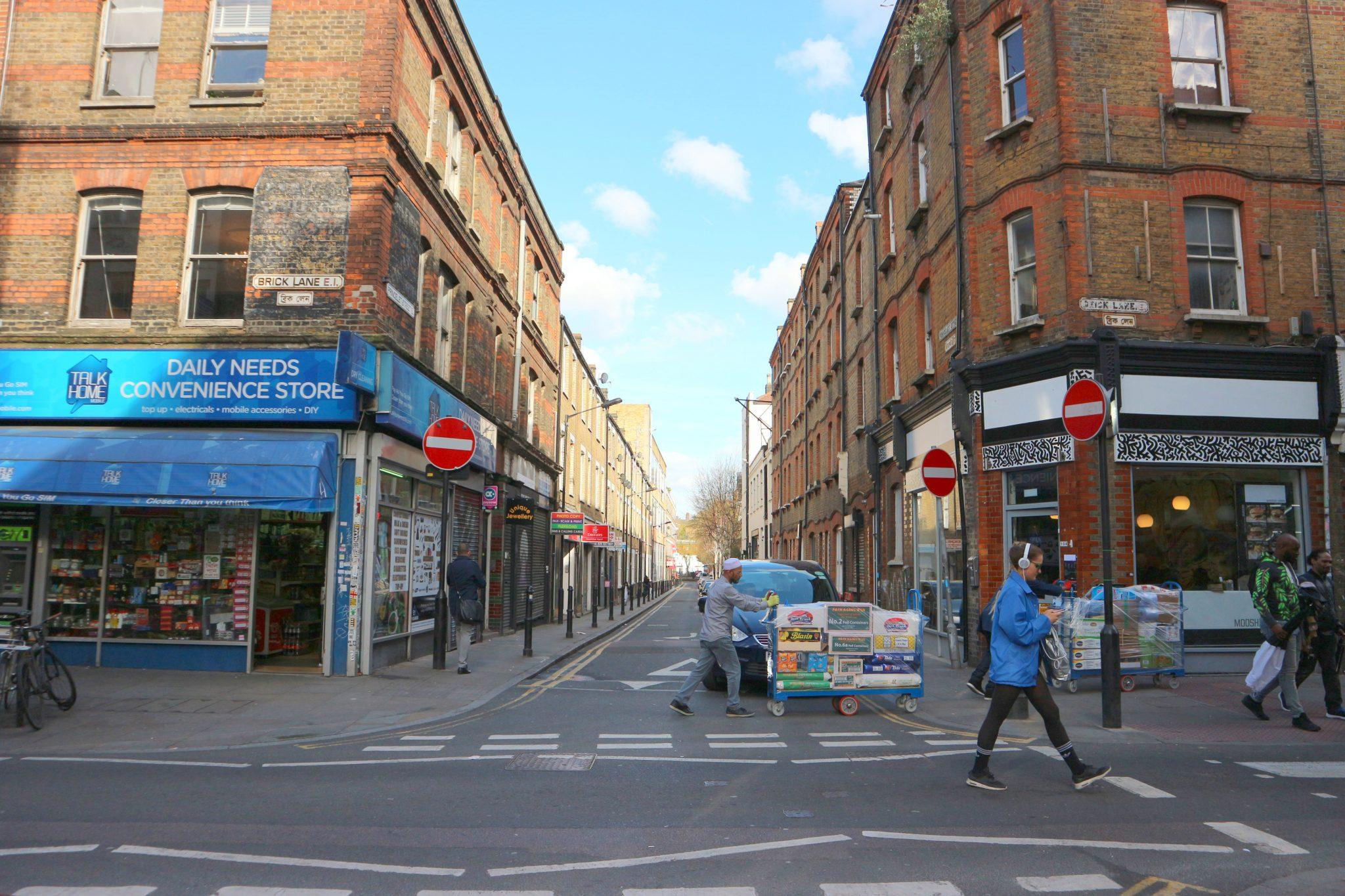 Brick Lane Lontoo nähtävyydet