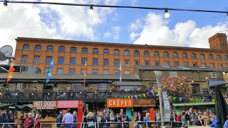 Lontoo Camden markkinat
