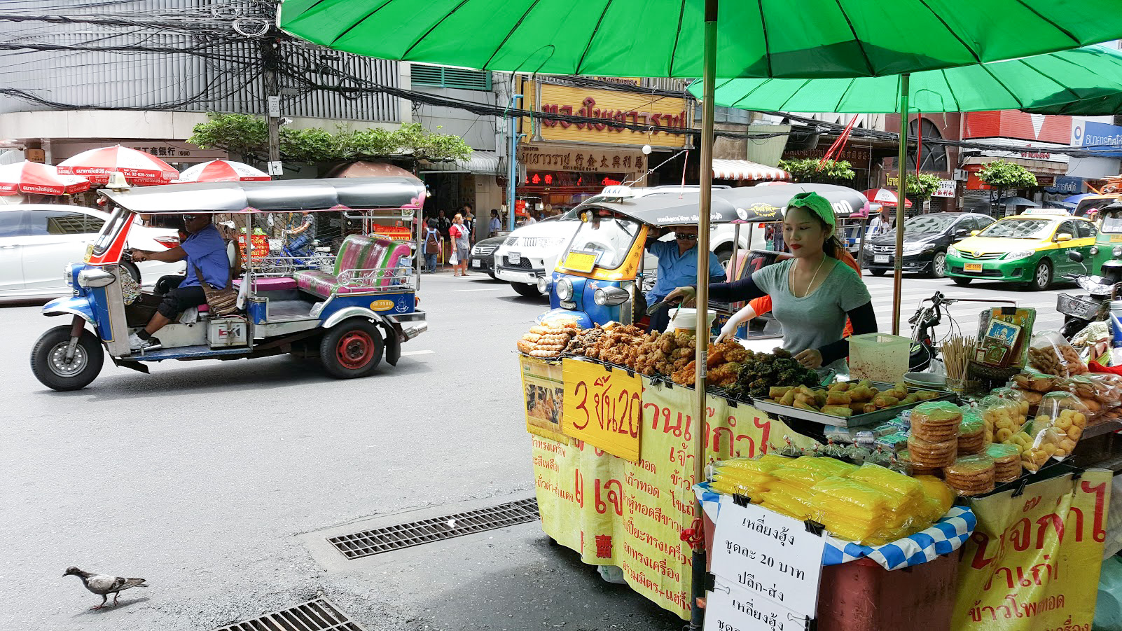 Bangkok katuruoka
