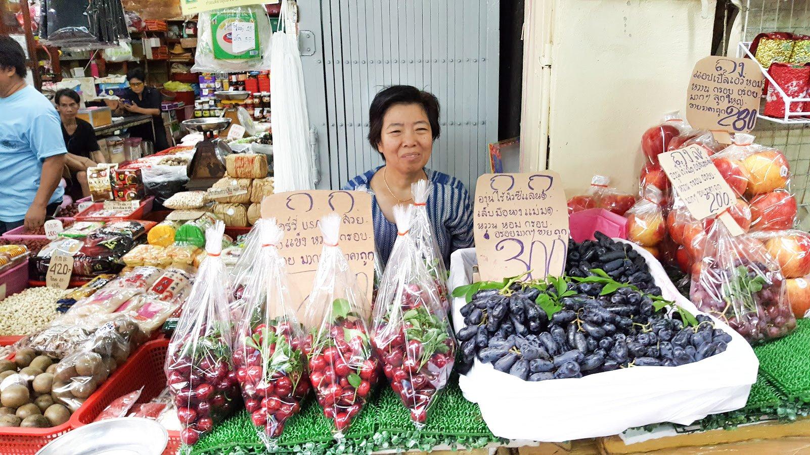 Bangkok markkinat