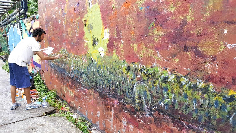 katutaide street art bangkok nähtävyydet