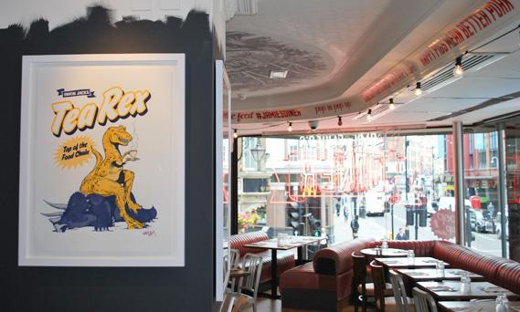 Lontoo Jamie Oliver ravintola