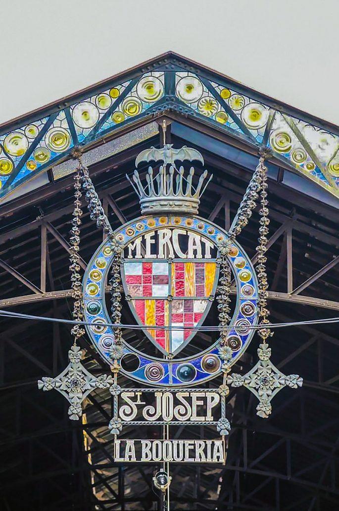 barcelona nähtävyydet kauppahalli la boqueria