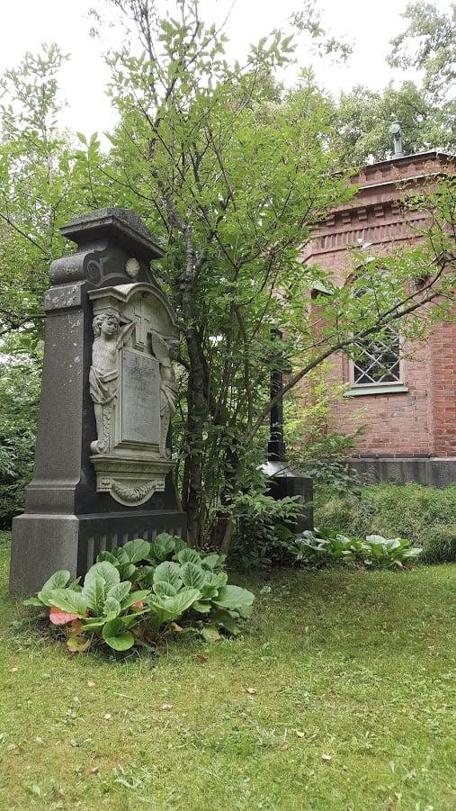 hiedanranta hautausmaa