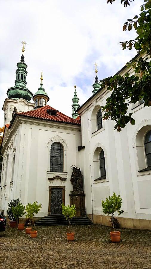 Strahovin luostari Praha