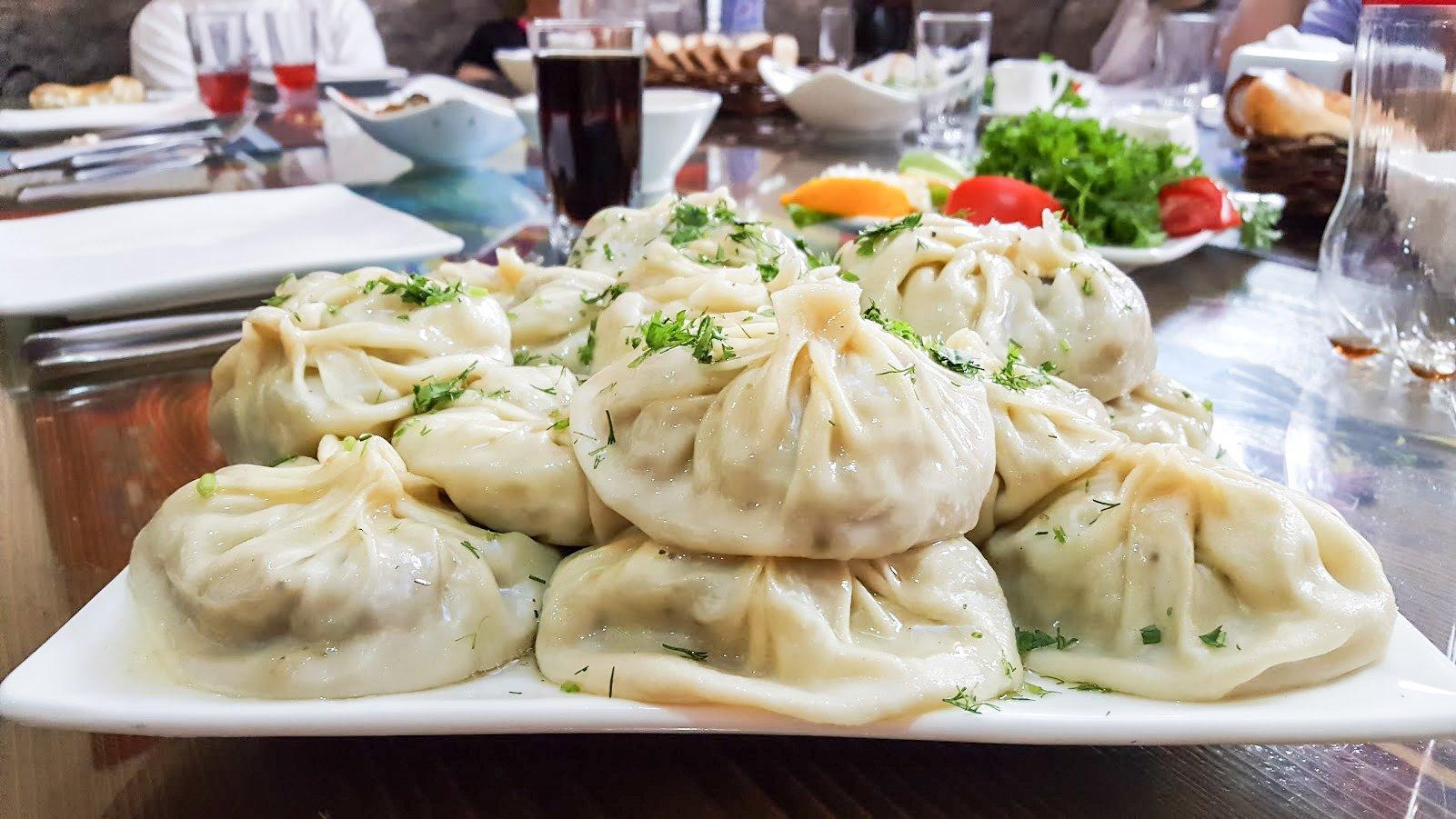 Tadzikistan Kirgisia ruoka