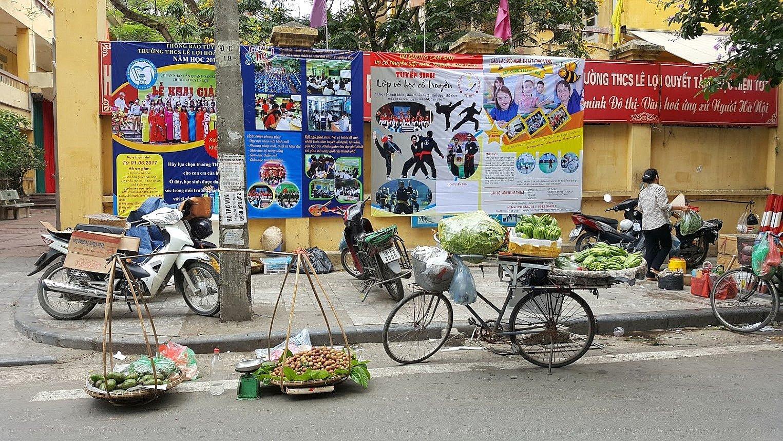 Hanoi riksa ajelu