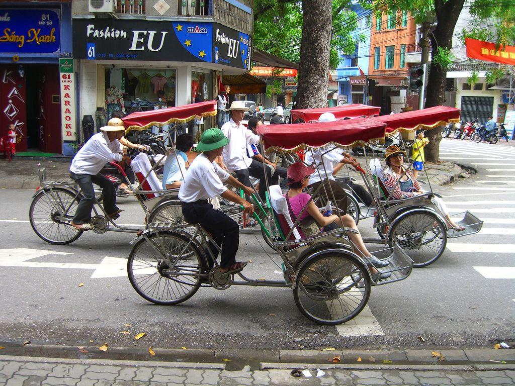 Hanoi riksa