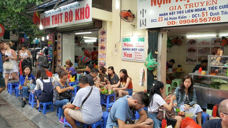 Hanoi ruoka