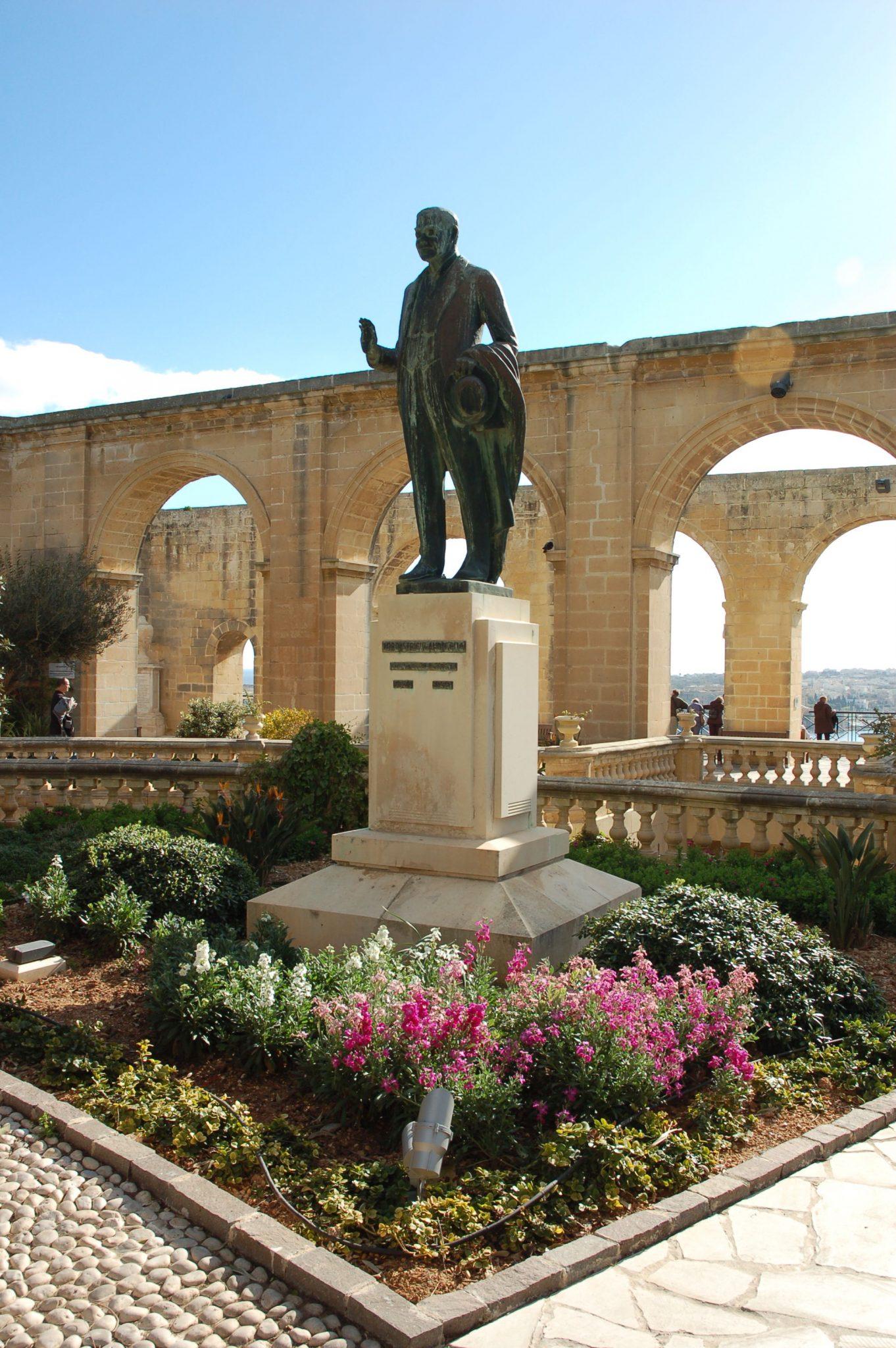 Valletta puutarha