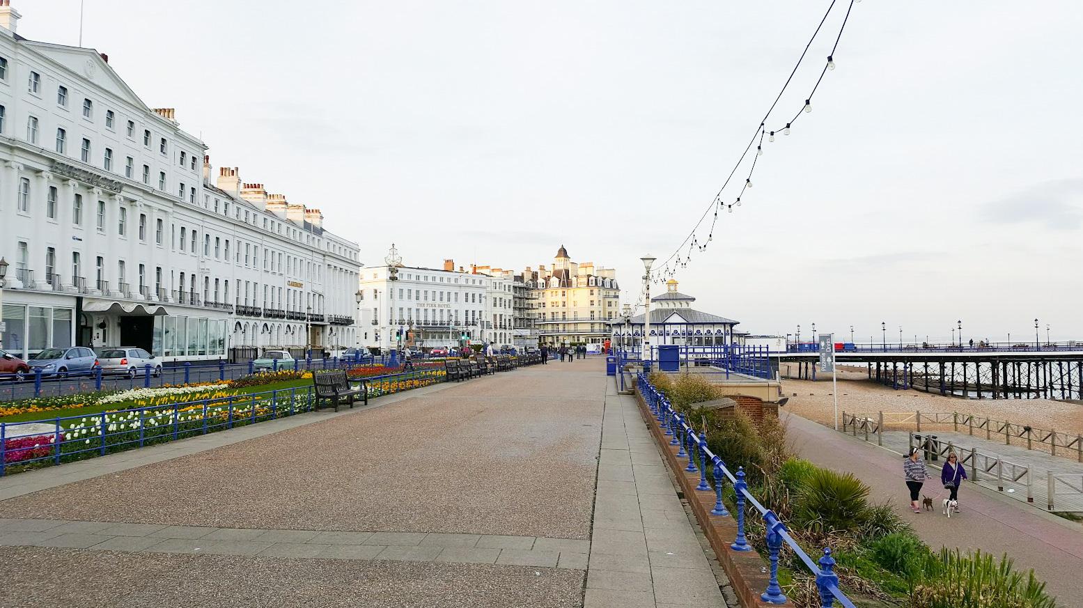 englanti rannikko päiväretki eastbourne
