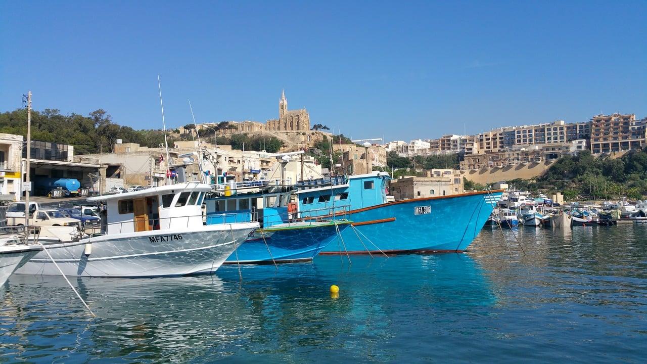 Gozo Malta satama