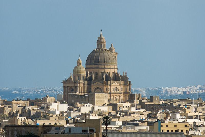 Malta Gozo kirkko