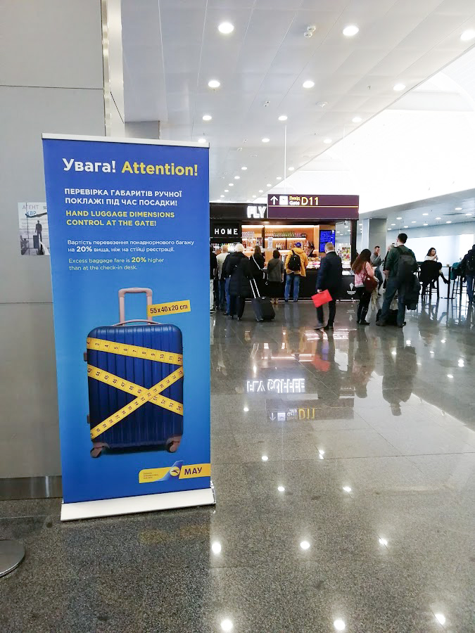 Ukraine International Airlines lennot kokemuksia