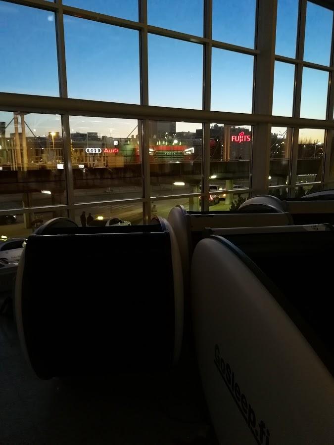 unimuna uniputki helsinki-vantaa lentokenttä nukkuminen hinta gosleep