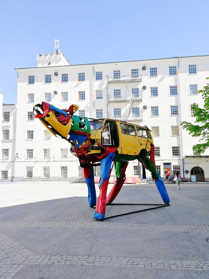 tekemistä Tampereella kesä finlayson art area