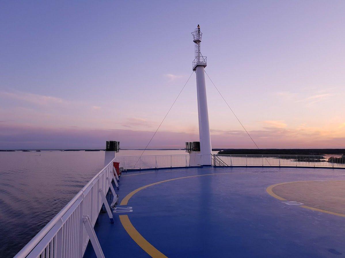 Finnlines laiva Naantali Kapellskär