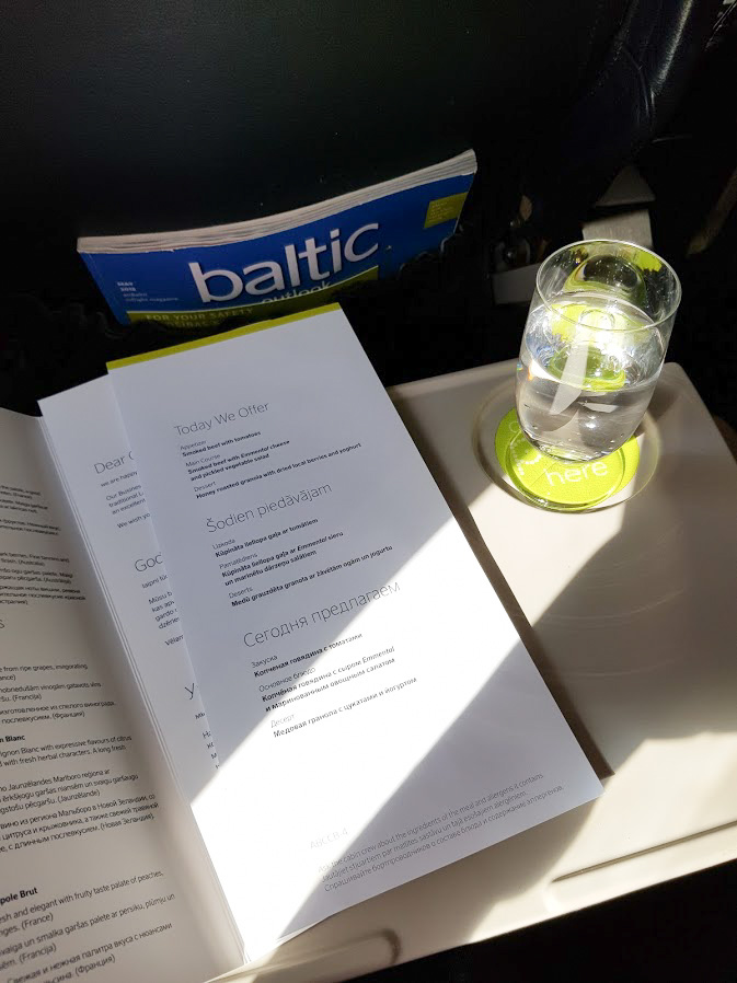 airbaltic businessluokka
