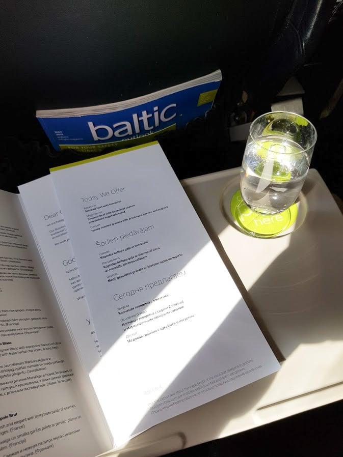 airbaltic businessluokka