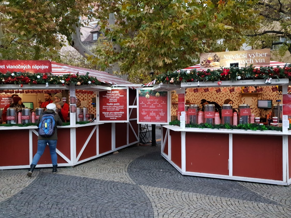 Bratislava joulutori joulumarkkinat