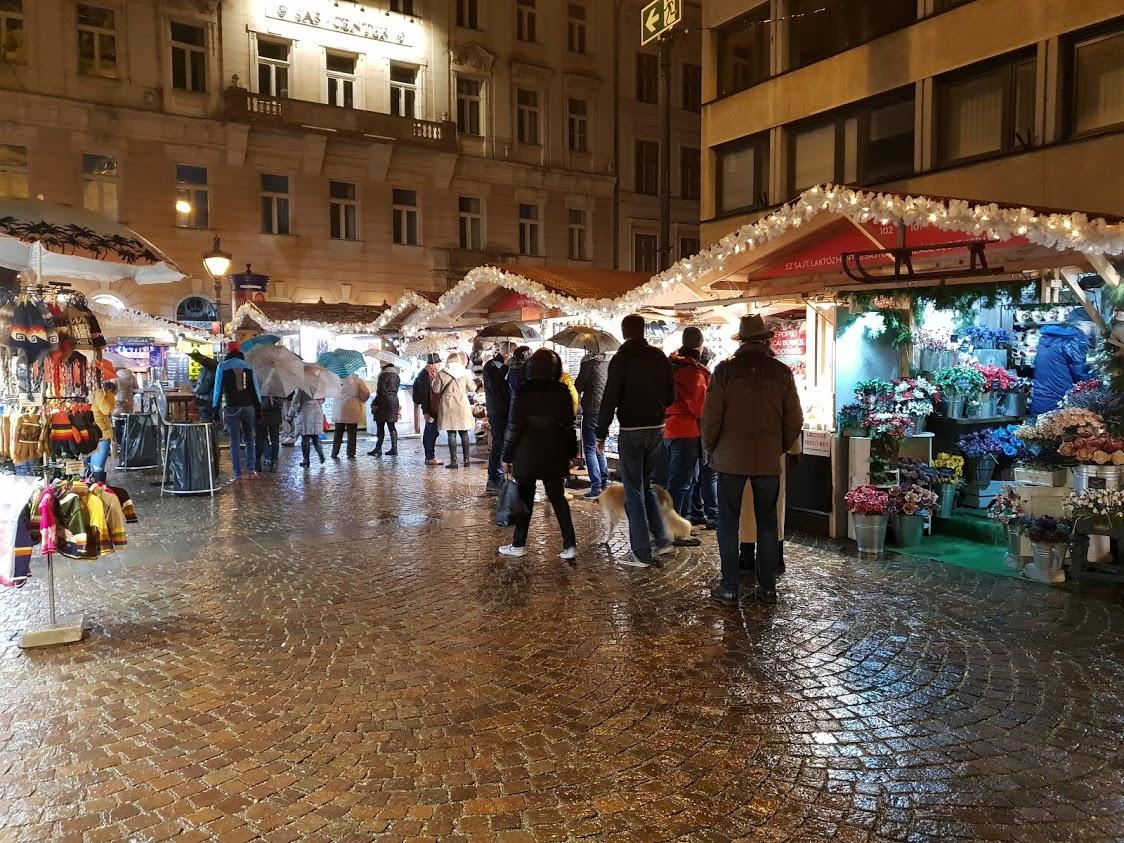 Budapest joulutori joulumarkkinat