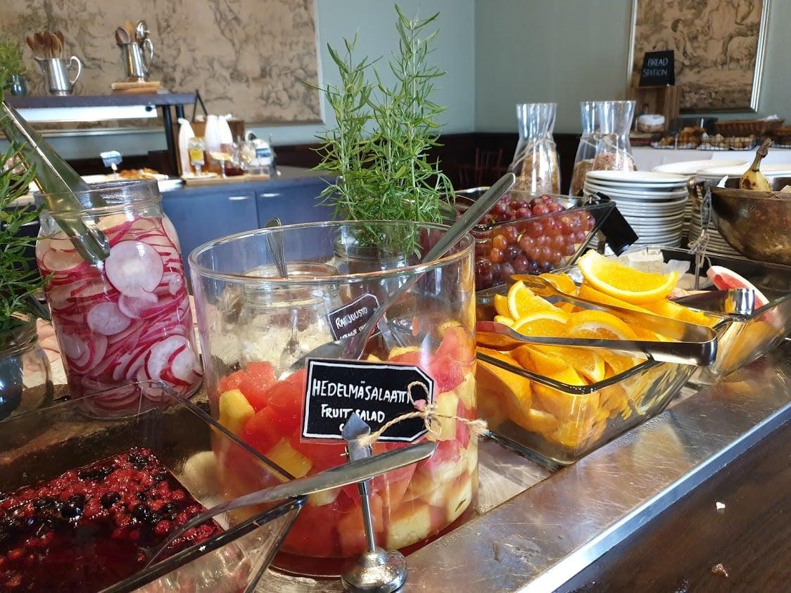 Tampere aamiainen aamupala kahvila Tammer hotelli