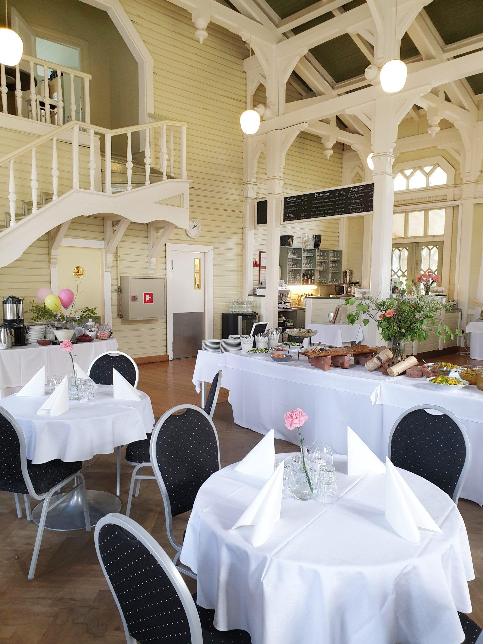 Viikinsaari ravintola brunssi