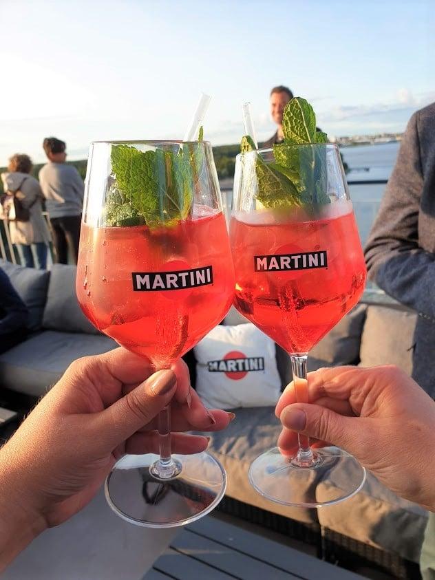 Viking Line Viking Grace terassi Martini Terrazza juoma drinkki