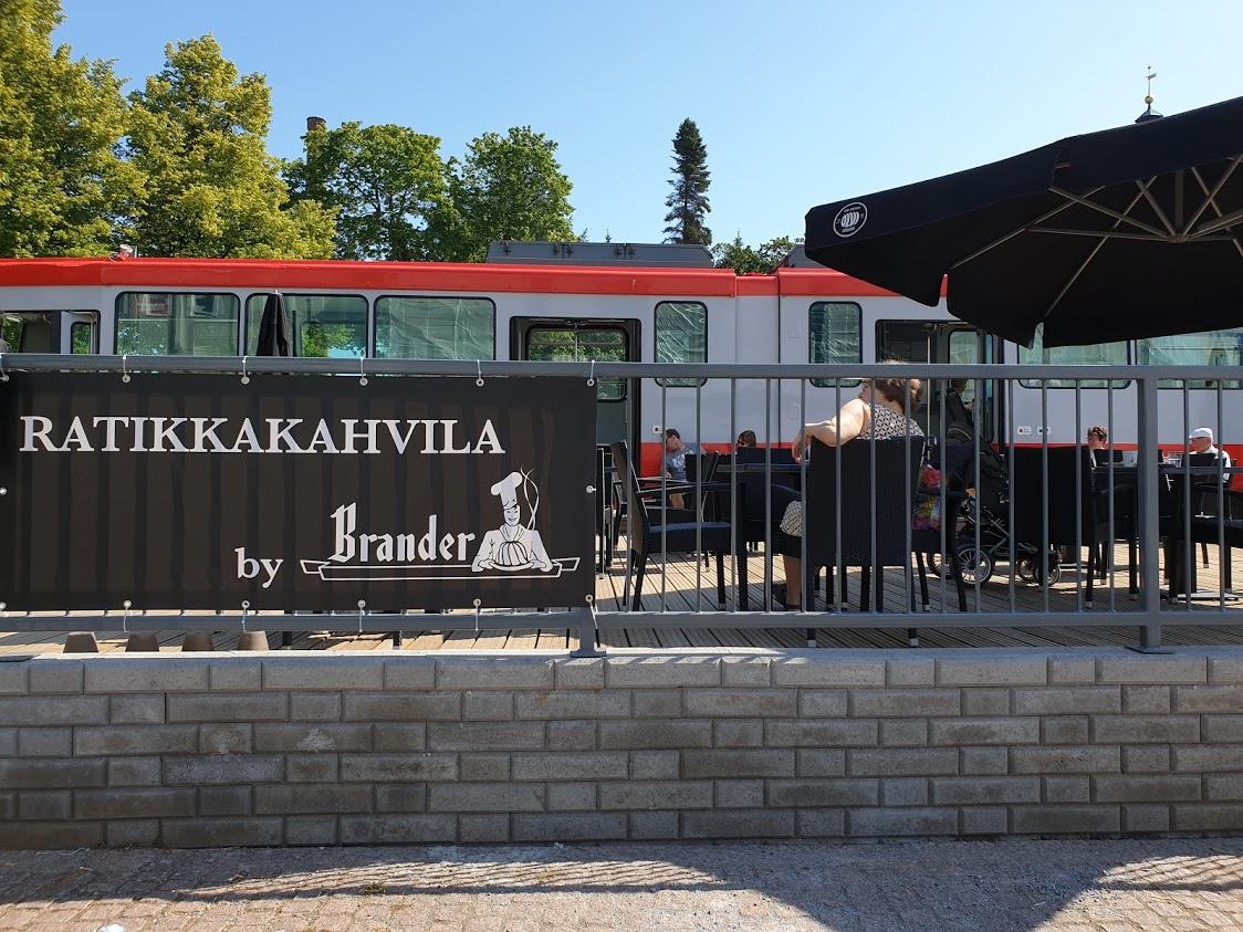 Tampere ratikka ratikkakahvila keskustori kahvila terassi