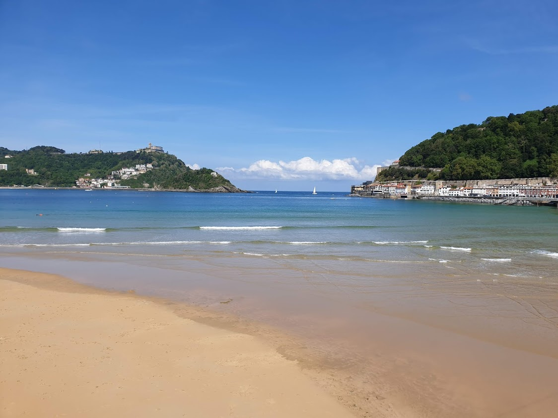 san sebastian espanja baski baskimaa pohjois-espanja pintxo ranta uimaranta