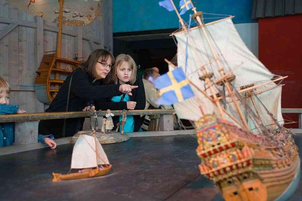 Tukholma nähtävyydet tekemistä päivä Tukholmassa viking line risteily lapsille vasa laiva museo