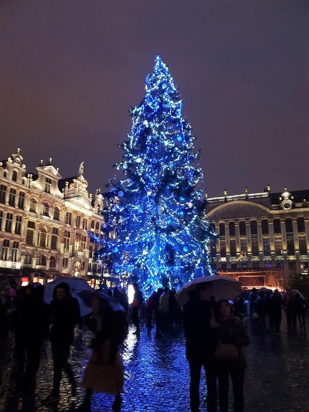 Bryssel matka kohde kokemuksia Belgia nähtävyydet joulutori joulu