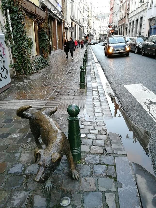 Bryssel matka kohde kokemuksia Belgia nähtävyydet manneken pis zinneken koira