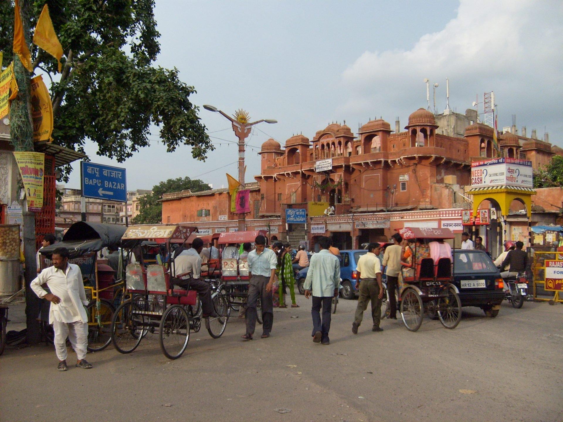 Intia Delhi Rajasthan kokemuksia matka