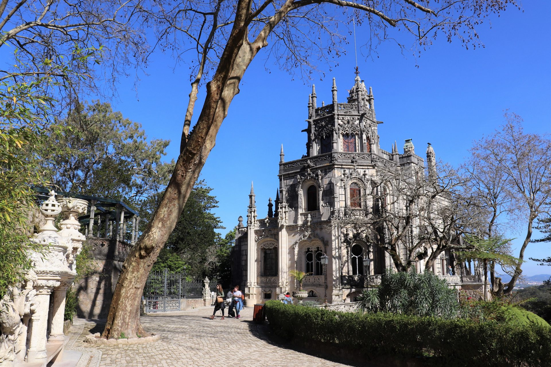 Sintra portugali retki päiväretki Lissabon kokemuksia