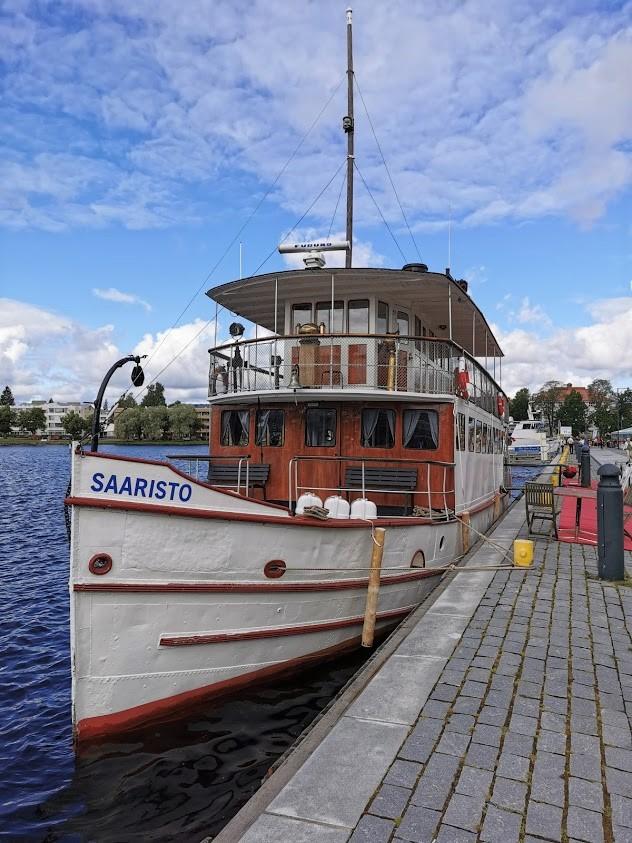 Savonlinna laiva järvi