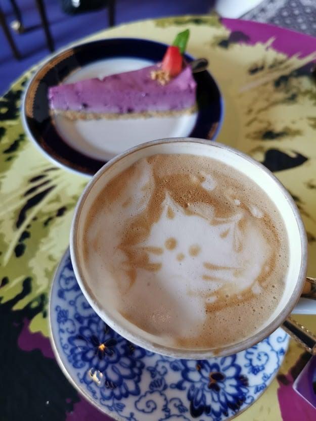 kissakahvila purnauskis tampere kahvi latte