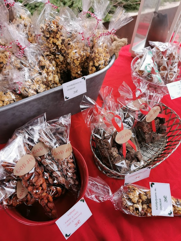 joulu joulumarkkinat karkit Maarianhamina Ahvenanmaa